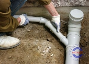 Installing a New Sewer Line