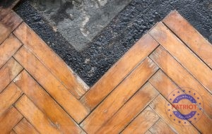 Wooden Flooring Damaged by Moisture